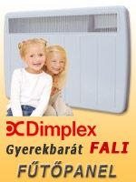 Dimplex gyerekbarát fűtőpanel
