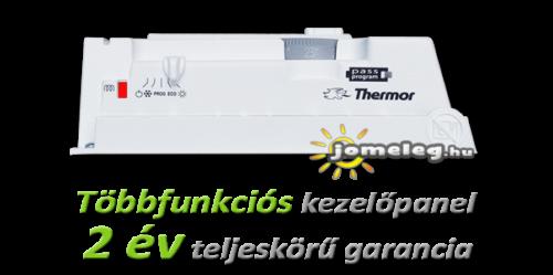 Thermor Evidence 2 elektromos fűtőpanel kezelőszervei